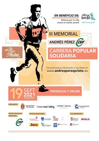 Carrera Andrés Pérez Prieto