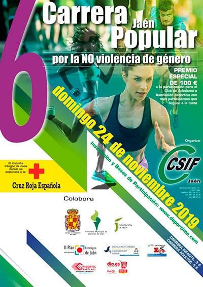 Carrera contra la Violencia de Género Jaén