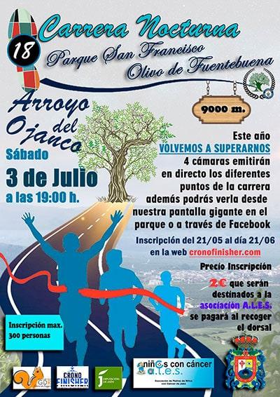 Carrera Nocturna Arroyo del Ojanco