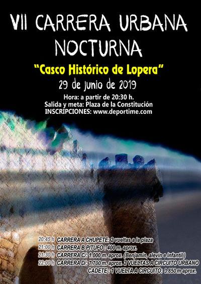 Carrera Nocturna Lopera