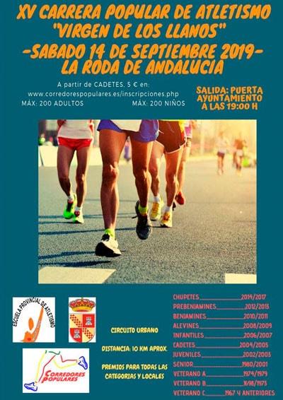 Carrera Popular La Roda de Andalucía
