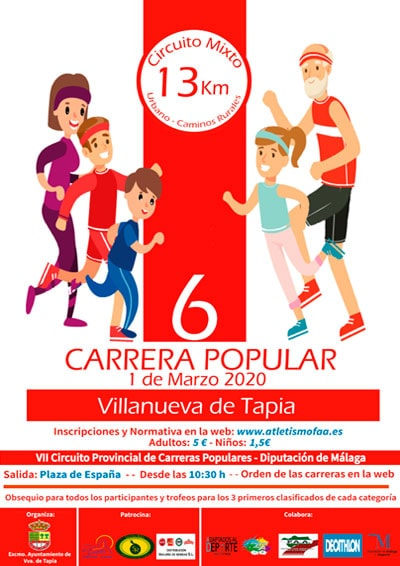 Carrera Popular Villanueva de Tapia