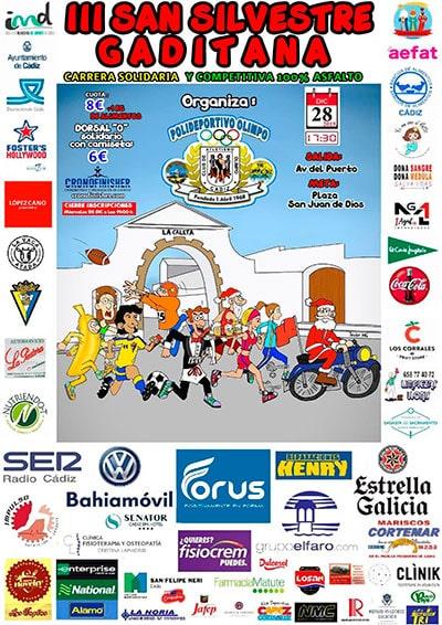 Carrera San Silvestre Cádiz