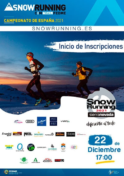 Carrera Snow Running Sierra Nevada
