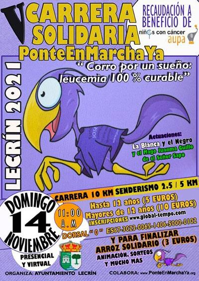 Carrera Solidaria Lecrín PonteEnMarchaYa