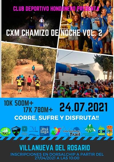 Chamizo Trail Nocturno Villanueva del Rosario