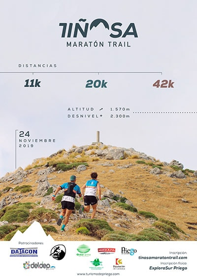 Tiñosa Maratón Trail Priego de Córdoba