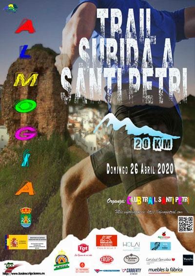 Trail Almogía Subida Santi Petri