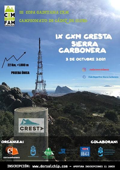 Trail Cresta Sierra Carbonera La Línea de la Concepción