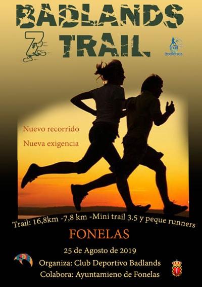 Trail Fonelas Ruta de los Badlands
