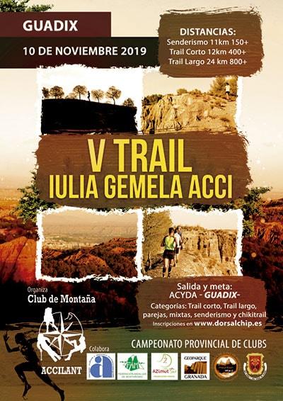 Trail Guadix Iulia Gemella Acci