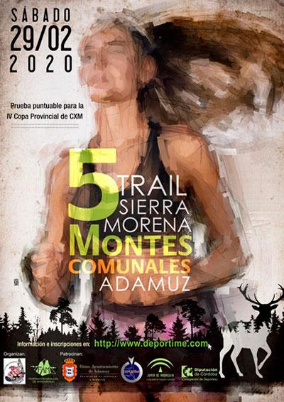 Trail Sierra Morena Montes Comunales Adamuz