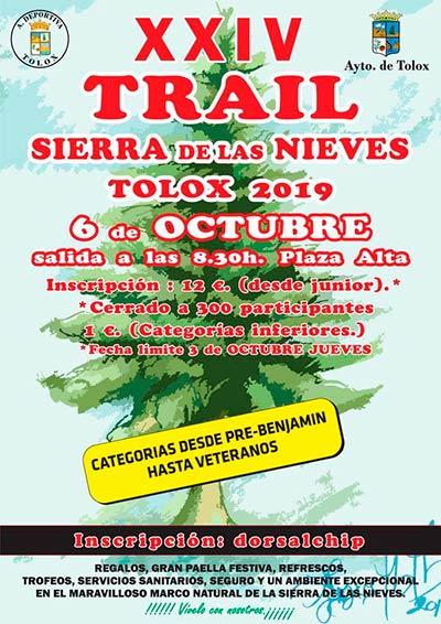 Trail Tolox Sierra de Las Nieves