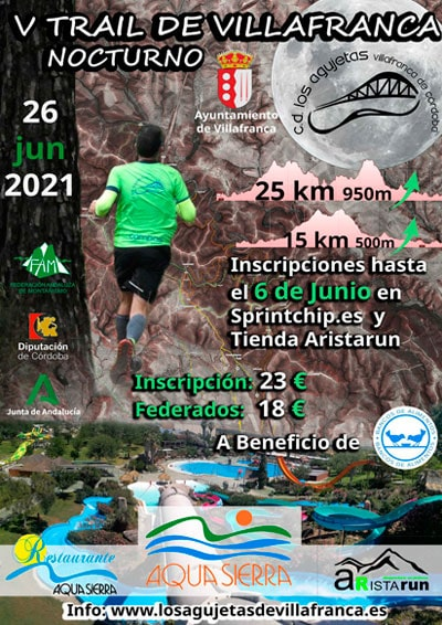 Trail Villafranca de Córdoba