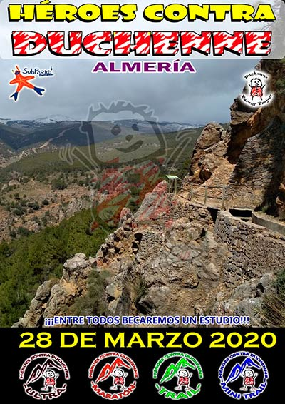 Ultra Trail Héroes contra Duchenne